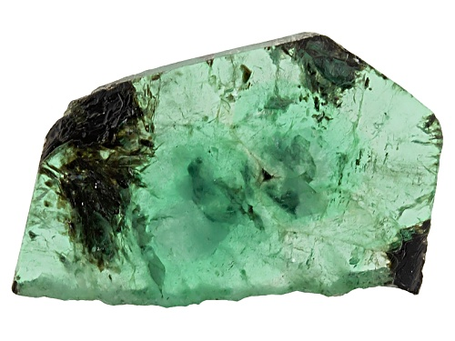 Photo of Brazilian Emerald Min 11.00ct Mm Varies Free Form Polished Slices