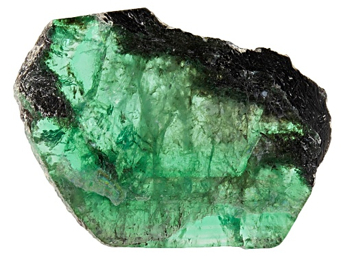 Photo of Brazilian Emerald Min 10.00ct Mm Varies Free Form Polished Slices