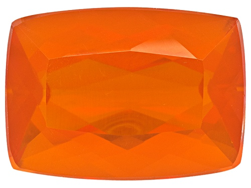Photo of Colheita Fire Opal™ Brasa Color Avg 4.50ct 14x10mm Rectangular Cushion