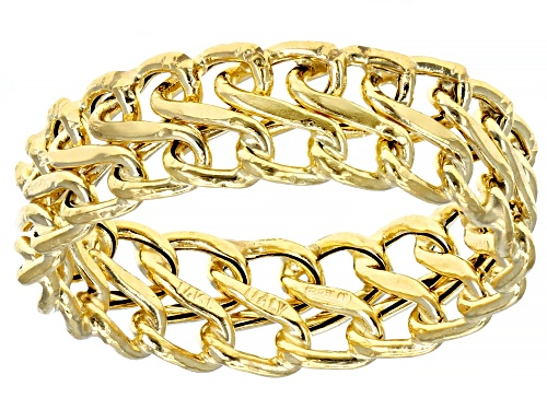 Photo of Splendido Oro™ 14K Yellow Gold Infinity Ring - Size 7