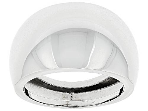 Photo of Splendido Oro™ 14k White Gold Specchio Ring - Size 4