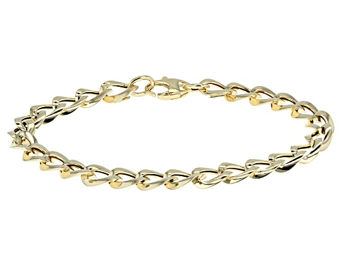Photo of Splendido Oro™ 14k Yellow Gold Elegance 7 1/2 Inch Bracelet - Size 7.5