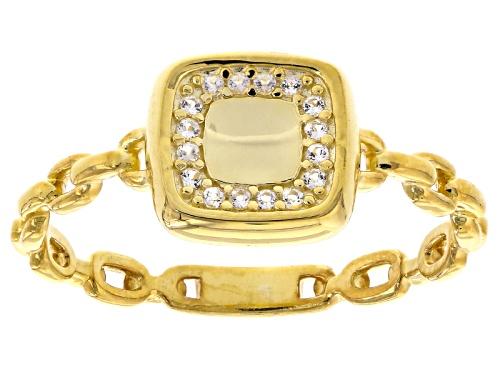 Photo of Splendido Oro™ 14k Yellow Gold Bella Luce® Diamond Simulant Preziosa Cornice Ring - Size 9
