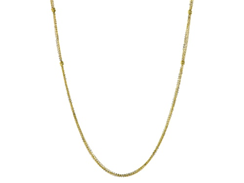 Photo of Splendido Oro™ 14k Yellow Gold Multistrand Elegance 32 Inch Necklace - Size 32