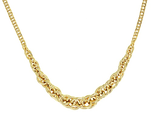 Photo of Splendido Oro™ 14k Yellow Gold Twisted Silk 20 Inch Necklace - Size 20