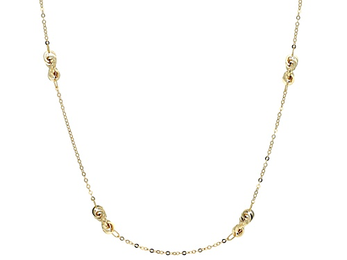 Photo of Splendido Oro™ 14k Yellow Gold Ribbons 32 Inch Necklace - Size 32