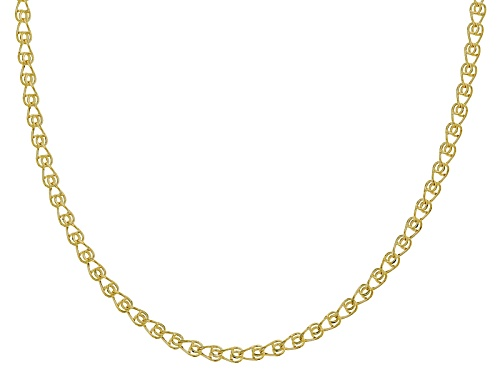 Photo of Splendido Oro™ 14k Yellow Gold Designer Love 18 Inch Chain Necklace - Size 18