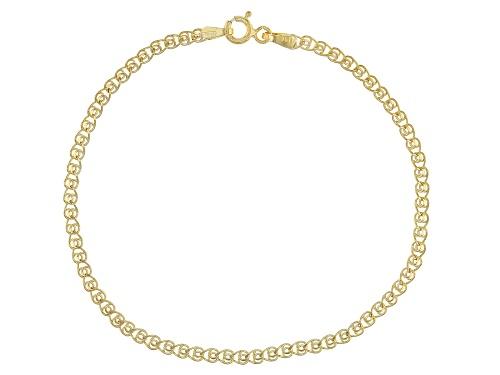 Photo of Splendido Oro™ 14k Yellow Gold Ritornello 7 1/2 Inch Bracelet - Size 7.5