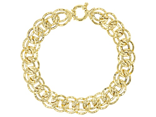 Photo of Splendido Oro™ 14k Yellow Gold Collezione Artigiana 7 1/2 Inch Bracelet - Size 7.5