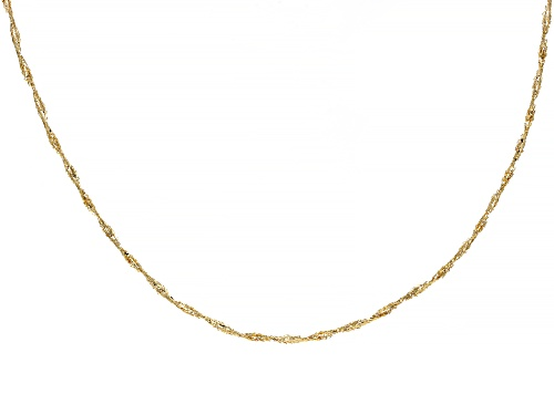 Photo of Splendido Oro™ 14k Yellow Gold Mesh Necklace 18 Inch - Size 18