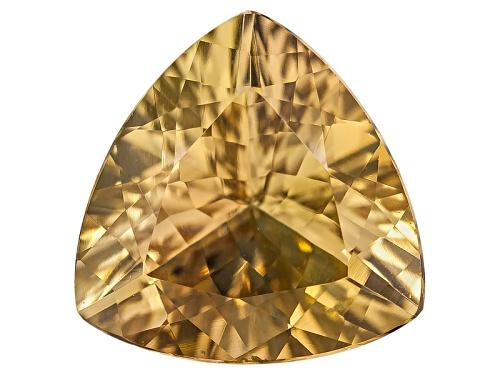 Photo of Untreated Tanzanian Golden Zoisite Min 1.50ct 8x8mm Trillion
