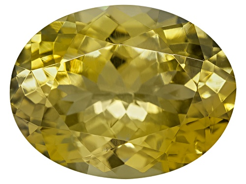 Photo of Untreated Tanzanian Golden Zoisite Min 1.65ct 9x7mm Oval