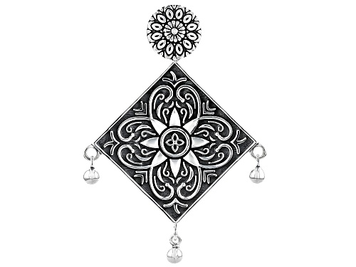 Photo of Artisan Collection Of India™ Floral Design Sterling Silver Pendant
