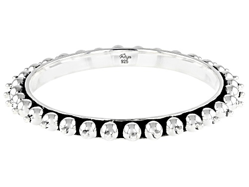 Photo of Artisan Collection Of India™ Sterling Silver Bangle Bracelet - Size 8