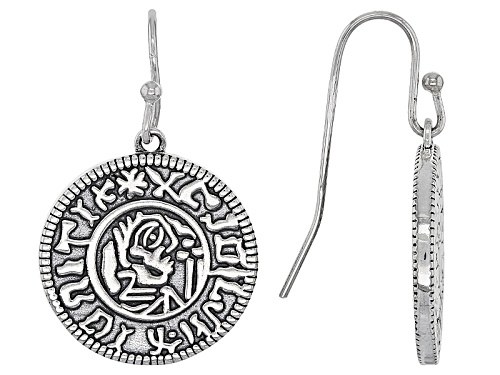 Photo of Artisan Collection Of Ireland™ Viking Coin Replica Sterling Silver Dangle Earrings