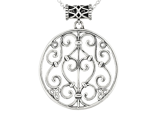 Photo of Artisan Collection Of Ireland™ Sterling Silver Celtic Pendant With Chain