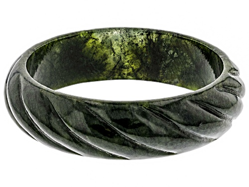 Photo of Artisan Collection Of Ireland™ Carved Connemara Marble Bangle Bracelet