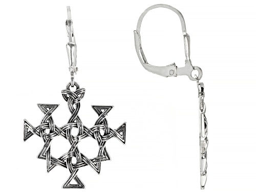 Photo of Artisan Collection of Ireland™ Sterling Silver Viking Design Dangle Earrings