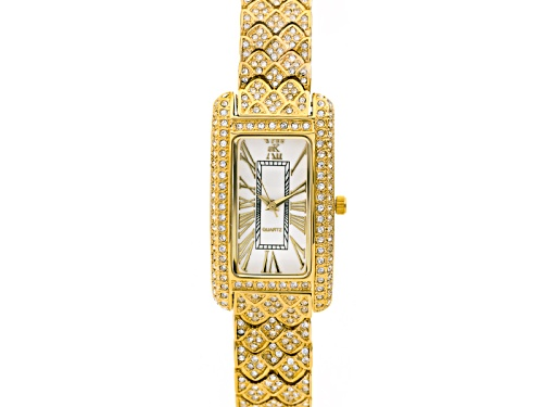 Photo of Adee Kaye Beverly Hills ™ White Crystal Yellow Watch
