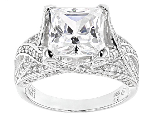 Photo of Jose Hess ™ For Bella Luce ® 8.19ctw Rhodium Over Sterling Silver Ring (4.61ctw Dew) - Size 7