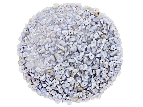 Photo of 1/2 lb Bag of Blue Lace Agate Chip Parcel