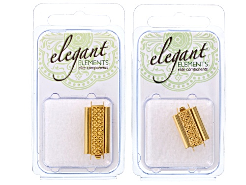 Photo of Bead Slides - Gold Plated