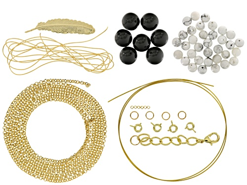 Photo of Layered Necklace Project Kit Includes Supplies To Create A Triple Layered Necklace