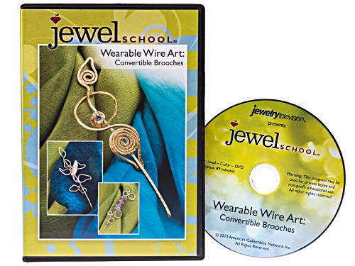 Photo of Wearable Wire Art Convertible Brooches Dvd By Dale Cougar Armstrong
