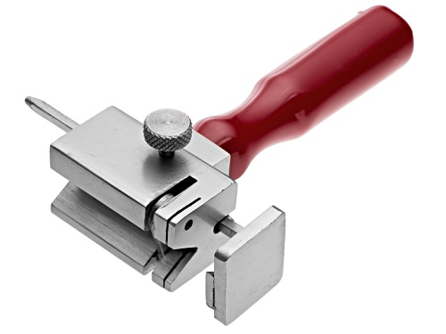 "Photo of Tube Cutting Jig, Handy For Cutting Tubing Or Rods Up To 1/8"" Dia, Height 5 1/2"", Weighs 1.25 Lbs"