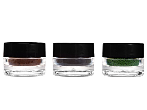 Photo of Encapture ™ Artisan Colored Pigment Refill Kit Conatins 1 Ea 4 Gram Jar Colors Black Brown Green