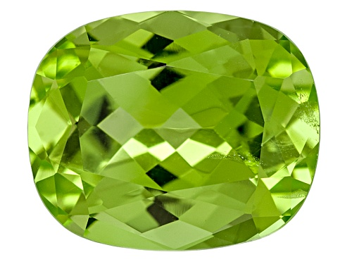Photo of Pakistani Kashmir Peridot 4.16ct 11x9mm Rectangular Cushion