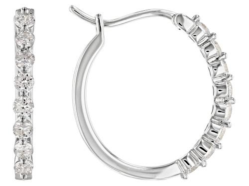 Photo of 0.50ctw Round White Lab-Grown Diamond 14K White Gold Earrings
