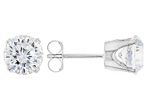 Photo of 3.50ctw Bella Luce ® Hidden Heart Cut 14k White Gold Stud Earrings