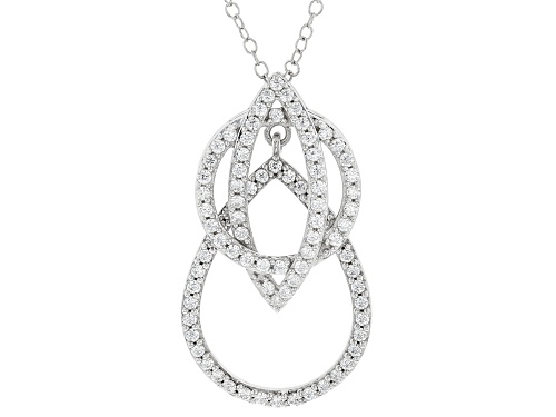 Photo of Bella Luce® 1.27CTW Rhodium Over Silver Pendant With Chain