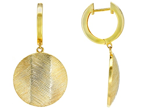 Photo of 18K Yellow Gold Over Sterling Silver Earrings
