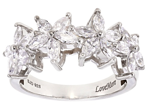 Photo of Bella Luce ® 2.45CTW Rhodium Over Sterling Silver Ring - Size 12