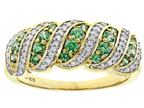 Photo of Bella Luce Luxe ™ 1.00CTW Featuring Fancy Green Zirconia From Swarovski ® Eterno ™ Yellow Ring - Size 8