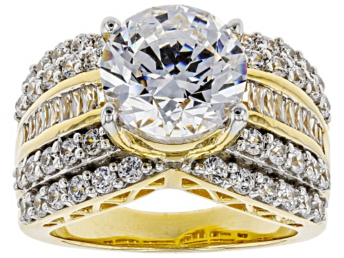 Photo of Bella Luce Luxe ™ 9.49CTW Featuring White Zirconia From Swarovski ® Eterno ™ Yellow Ring - Size 7