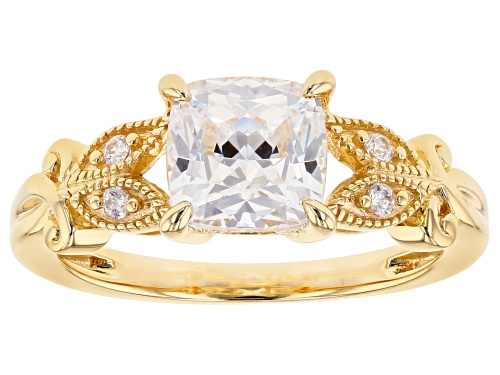 BELLA LUCE LUXE (TM) 2.96CTW FEATURING ZIRCONIA FROM SWAROVSKI (R) ETERNO (TM) YELLOW RING - Size 8