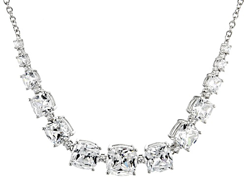 Photo of Bella Luce Luxe™ 50.22ctw Zirconia From Swarovski® Rhodium Over Silver Necklace (25.18ctw DEW) - Size 18
