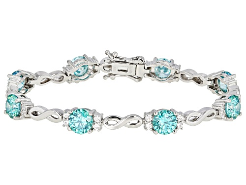 Photo of Bella Luce Luxe™ 19.28ctw Featuring Zirconia From Swarovski® Rhodium Over Silver Bracelet - Size 8