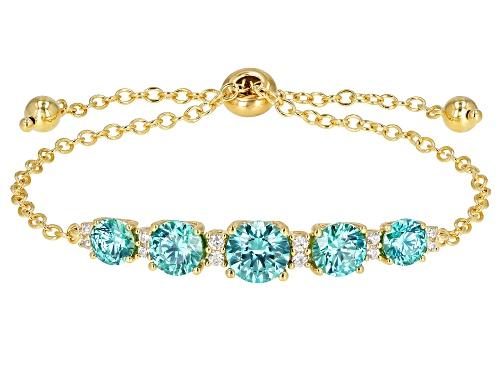 Photo of Bella Luce Luxe™ 11.14ctw Feat Zirconia From Swarovski® Eterno™ Yellow Adjustable Bracelet