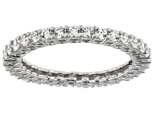 Photo of Bella Luce Luxe™ 2.00ctw Zirconia From Swarovski® Rhodium Over Silver Ring (0.99ctw DEW) - Size 8