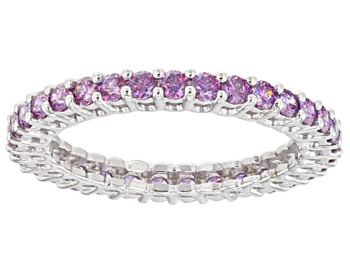 Photo of Bella Luce Luxe™ 2.00ctw Fancy Purple Zirconia From Swarovski® Rhodium Over Silver Ring - Size 7