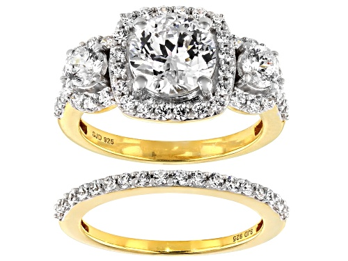 Photo of Bella Luce Luxe™ 5.91ctw Heritage Cut Zirconia From Swarovski® Eterno™Yellow Ring (3.47ctw DEW) - Size 8