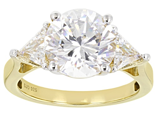 Photo of Bella Luce Luxe ™ 7.61ctw Featuring Zirconia From Swarovski ® Eterno ™ Yellow Ring - Size 9