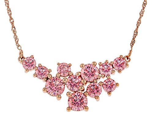 Photo of Bella Luce Luxe ™ 10.95ctw Featuring Fancy Pink Zirconia From Swarovski ® Eterno ™ Rose Necklace - Size 18