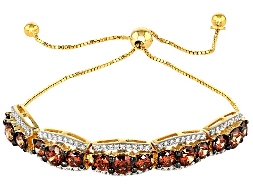 Photo of Bella Luce Luxe ™ 10.50ctw Caramel and White Zirconia From Swarovski ® Eterno ™ Yellow Bracelet