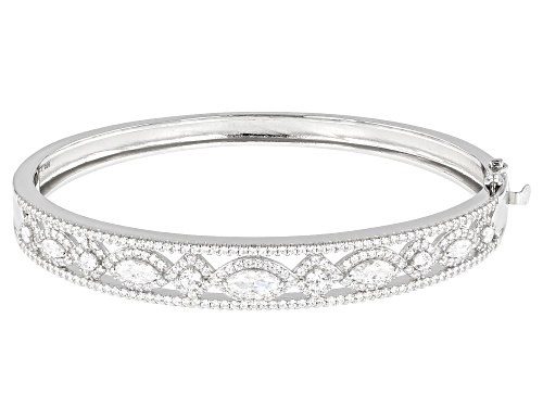 Photo of Bella Luce Luxe ™ 6.38ctw Featuring Zirconia From Swarovski ® Rhodium Over Sterling Silver Bracelet - Size 7.25