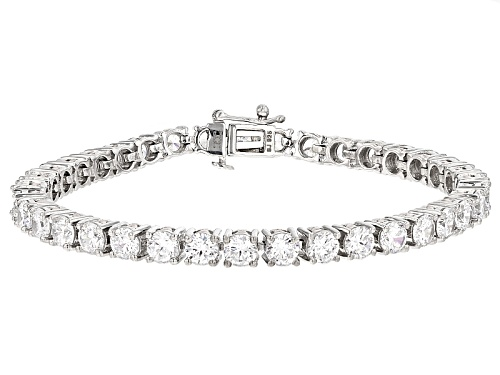 Photo of Michael O' Connor For Bella Luce®Diamond Simulant Rhodium Over Sterling Silver/Eterno™Bracelet - Size 7.5